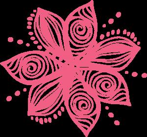 BETH LOGO flower pink